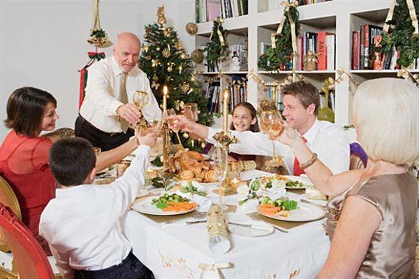 fiestas en familia