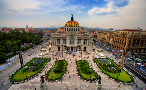 mexico bellas artes