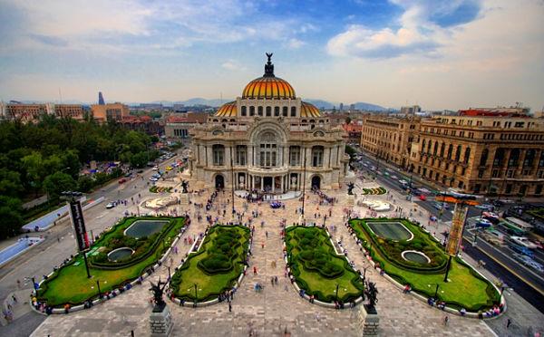 mexico bellas artes