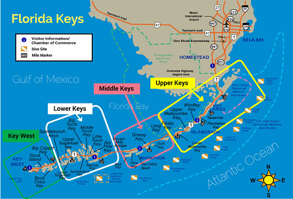 Los Cayos Florida Map.Cayos De Florida La Serie Bloodline Hace Crecer El Interes