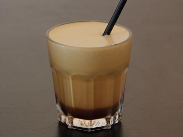 Café helado a la caribeña