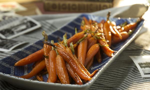 ensalada de zanahorias tibias