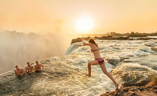 Frica la piscina del diablo para aventureros y amantes for Piscina del diablo en zambia