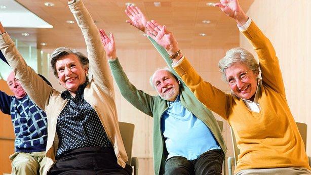 ancianos ejercicios