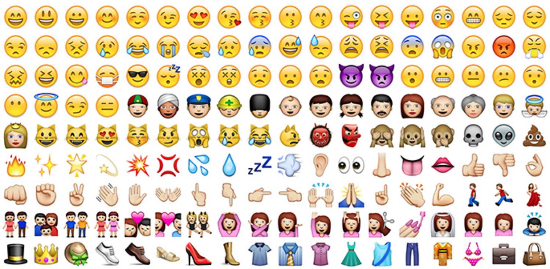 En la actualidad existen más de 1500 emojis