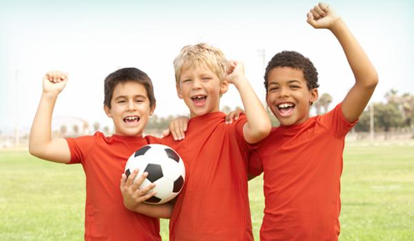 nutricion y deportes niños