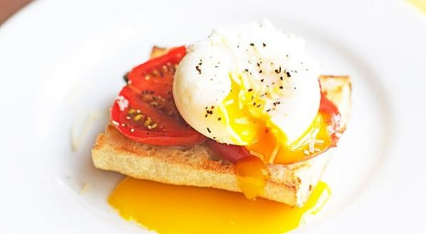 huevo escalfado