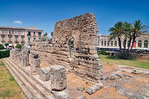 ruinas en sicilia