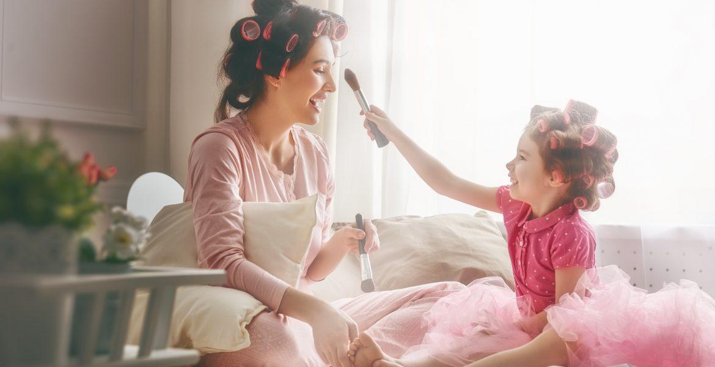 cabello madre e hija