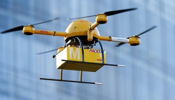 envíos por dron