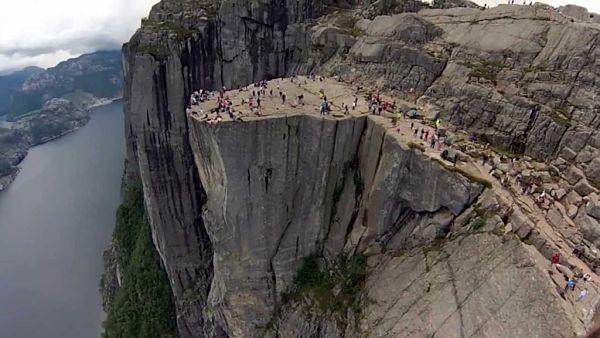 pulpito de roca en noruega