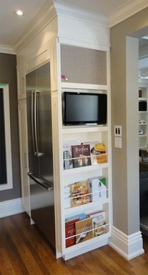 5 ideas y trucos para ubicar el televisor en la cocina - Television cocina ...