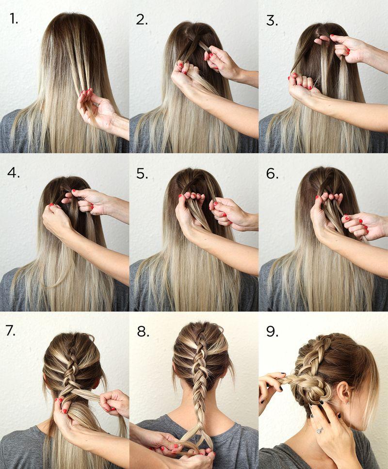 trenzas para el pelo peinados para fiestas