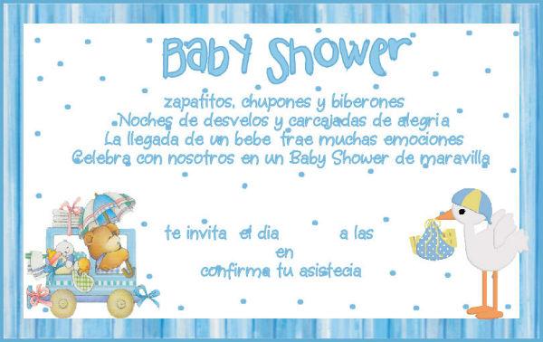 Cosas Para Pedir En El Baby Shower.Como Organizar Un Baby Shower De Nena O Varon Ideas