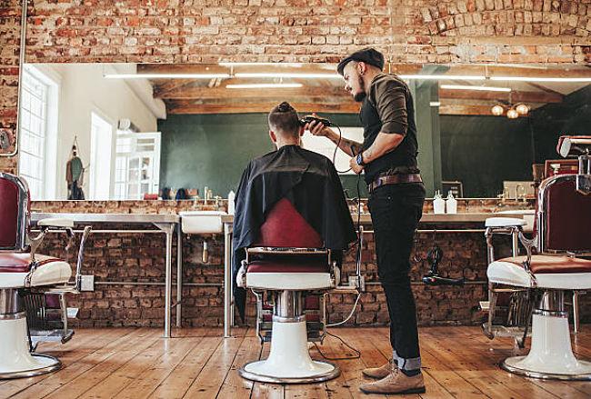 peluquería de hombres