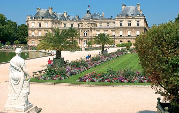Palacio de Luxemburgo de paris