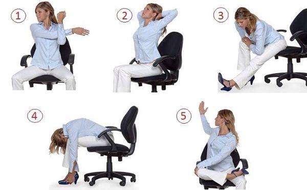 En jap n las empresas recurren al ejercicio para aumentar for Estiramientos oficina