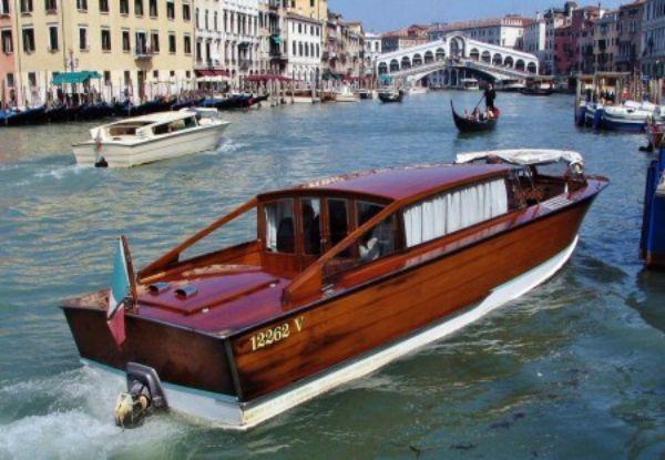 medio de transporte en venecia
