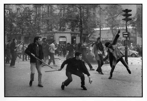 Barrio latino y mayo francés