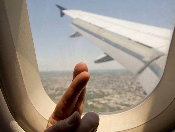aéreas más seguras