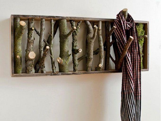 colgadores con vinilos de pared una idea original y que queda muy bien es ponerle un colgador o gancho a algn vinilo decorativo que tengamos en la pared