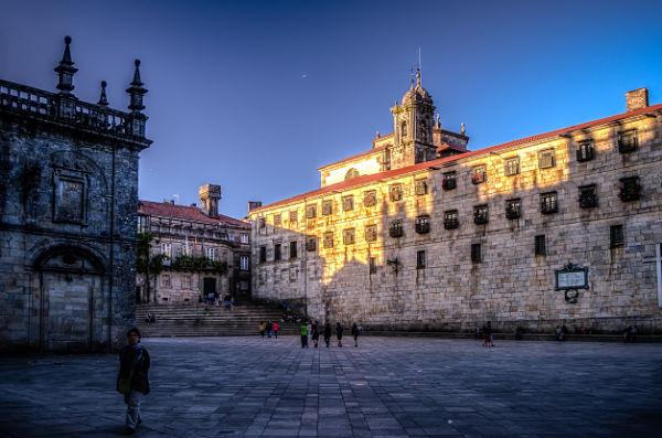 Plaza de la Quintana Santiago compostela 600