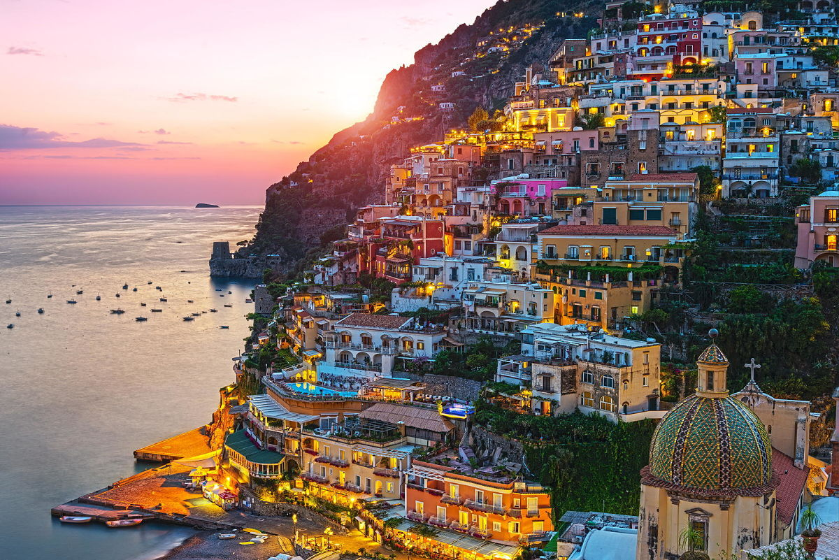 costa amalfitana paraiso italiano