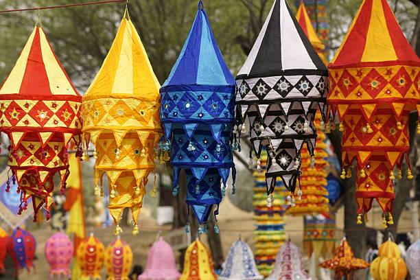 lámparas estilo hindú