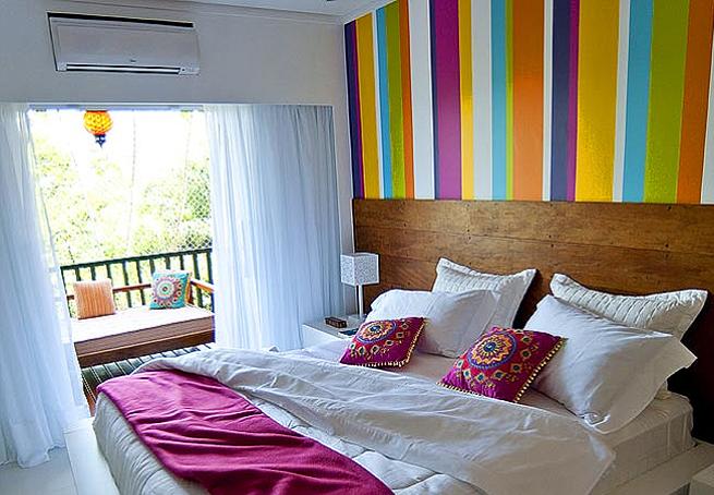 dormitorio estilo hindú