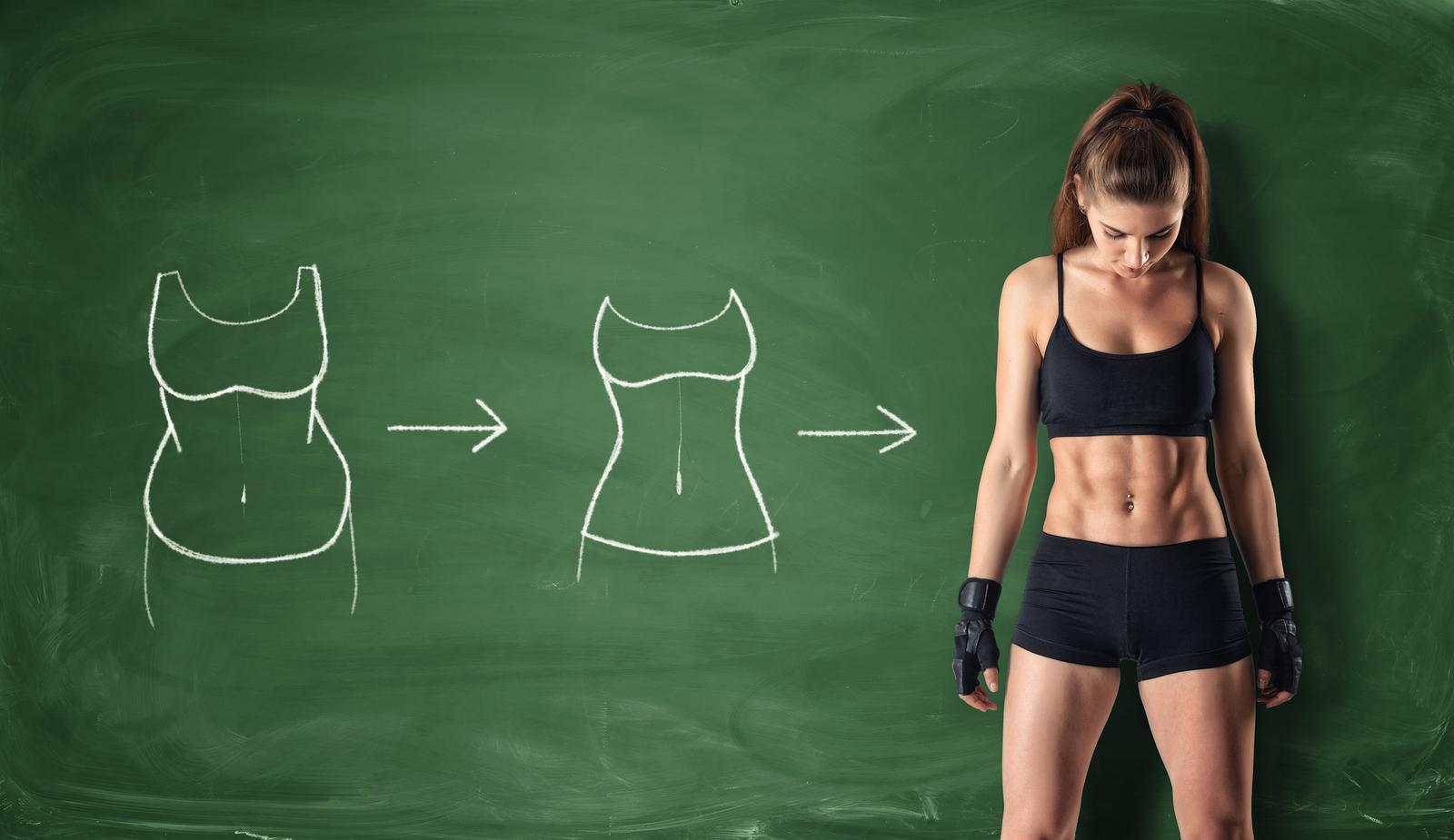 El fitness ayuda a bajar de peso