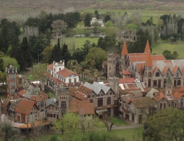 vista aérea de campanópolis