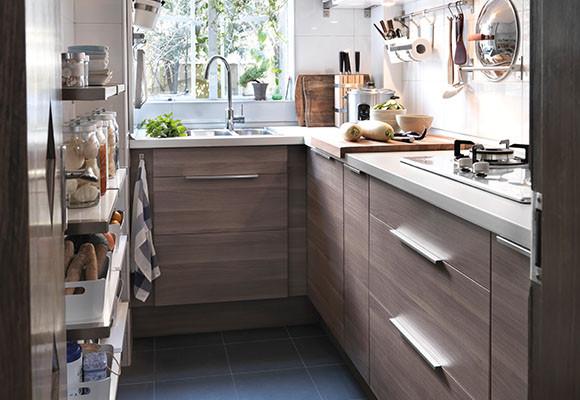 Amoblamientos de cocina modernos belleza y funcionalidad for Cocinas modernas en espacios reducidos