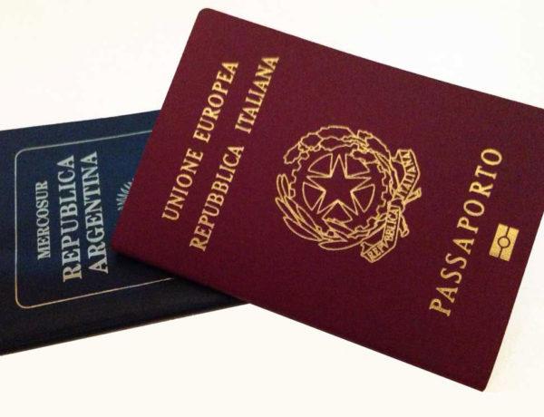 doble ciudadanía: pasaportes italiano y argentinno
