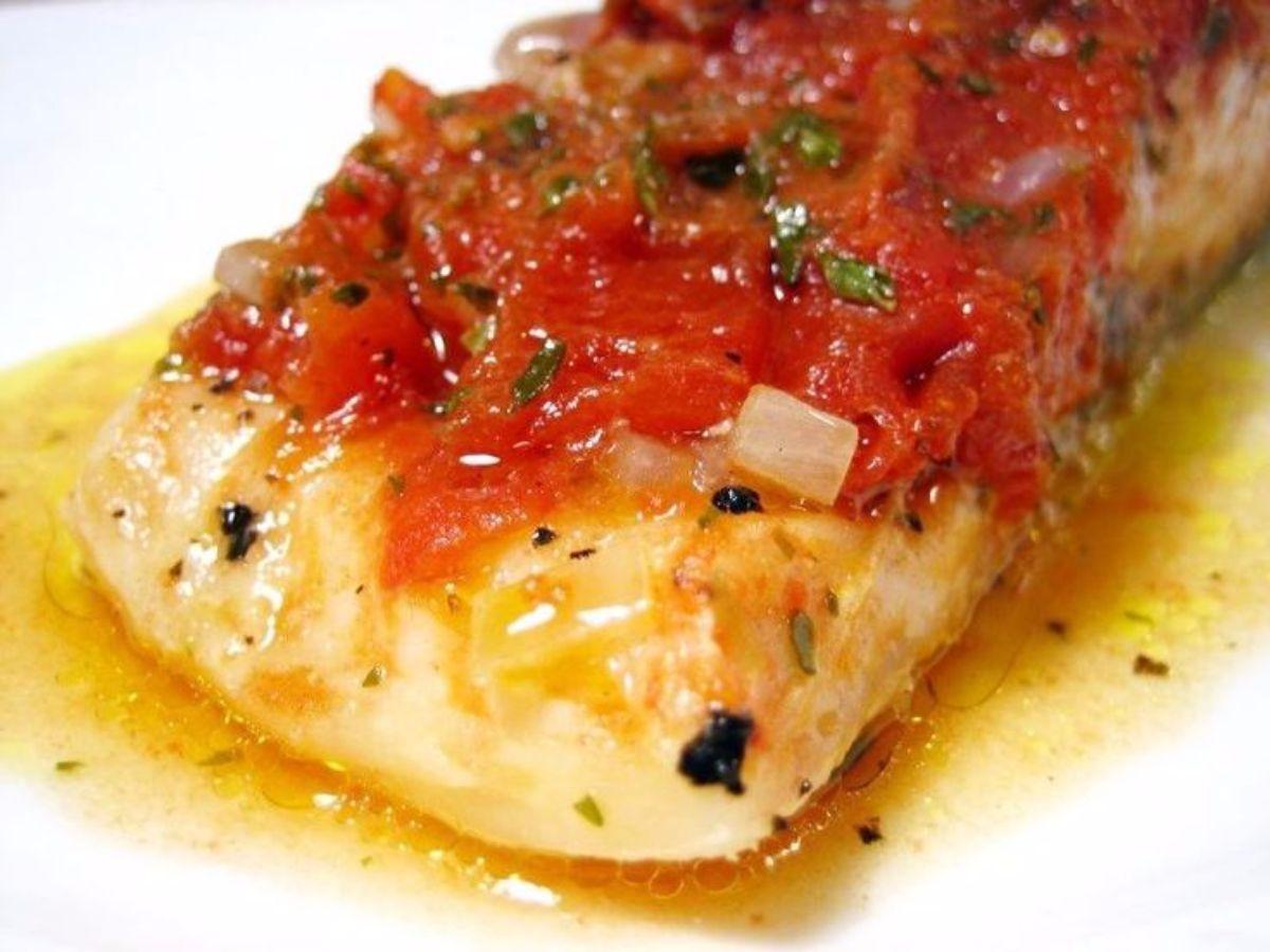 salmon glaseado