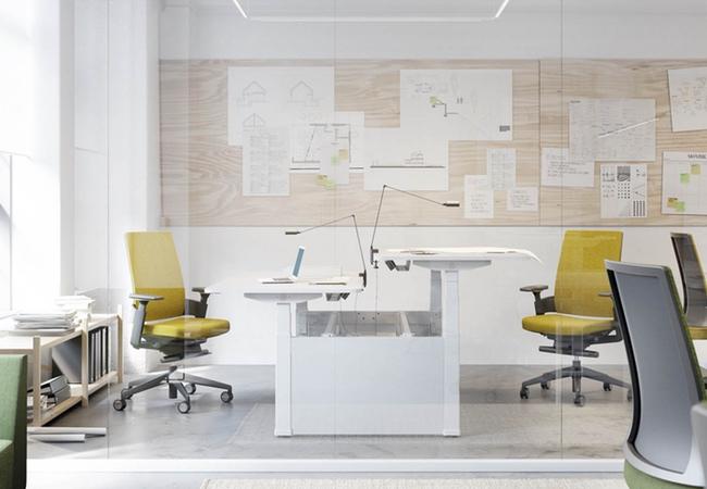 Salud ocupacional: muebles ergonómicos