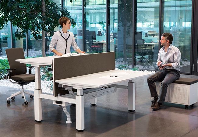 Salud ocupacional: escritorio ergonómico