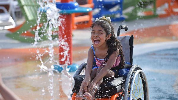 parque acuatico para discapacitados