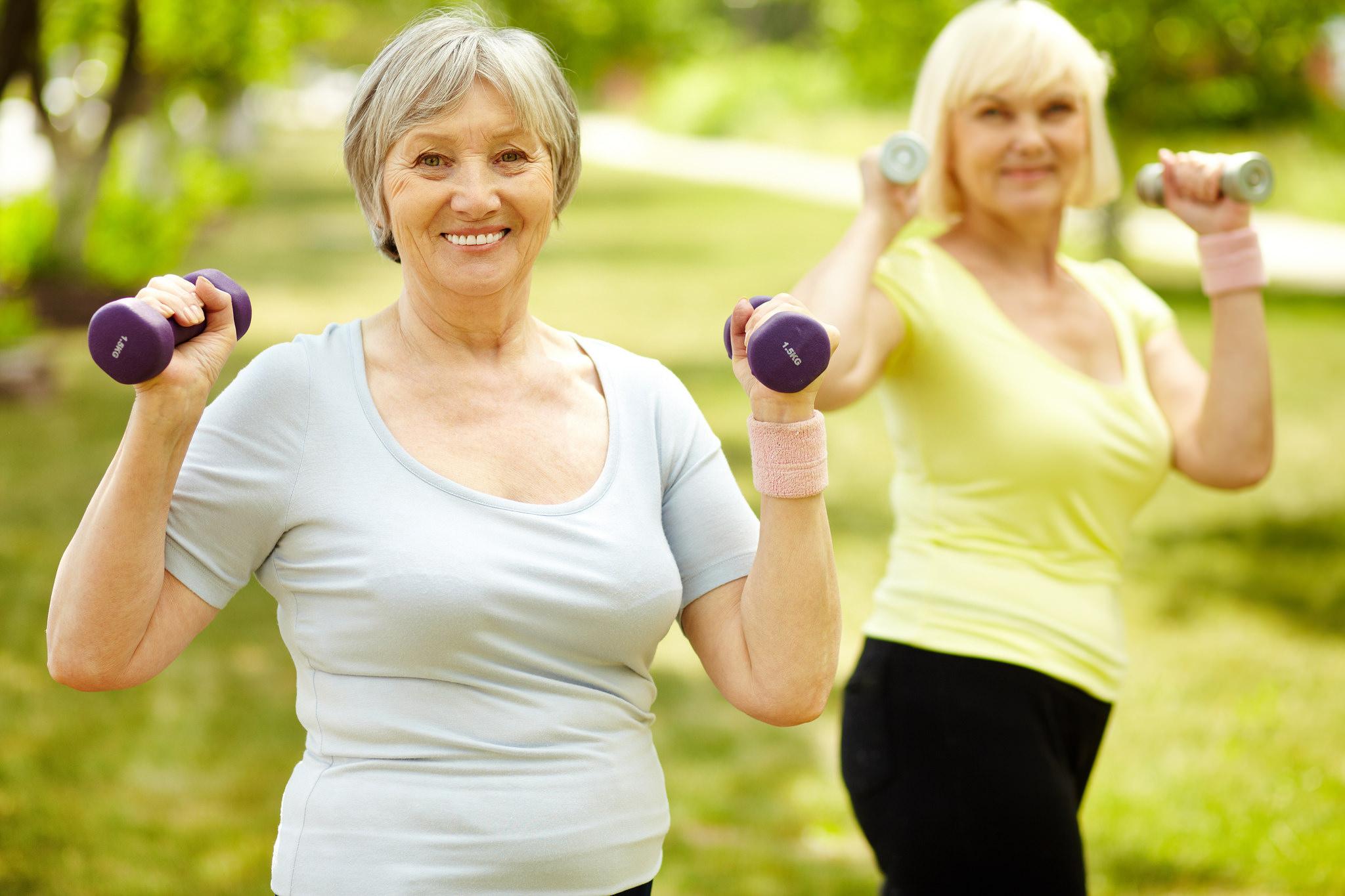 ejercicio adultos mayores