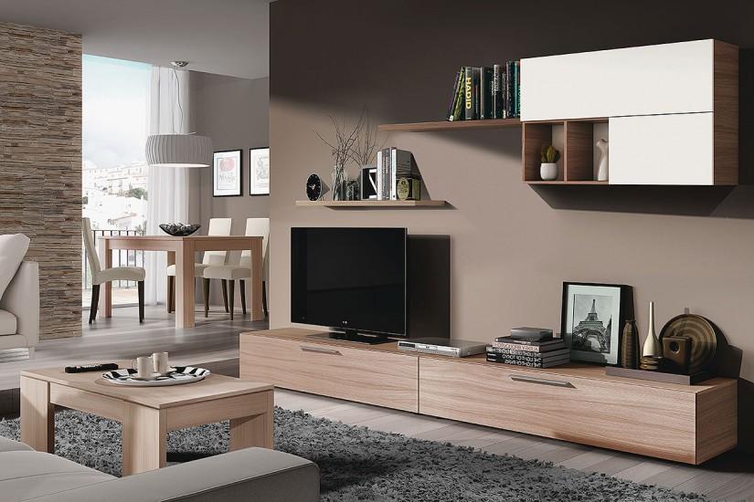 mueble modular para el living