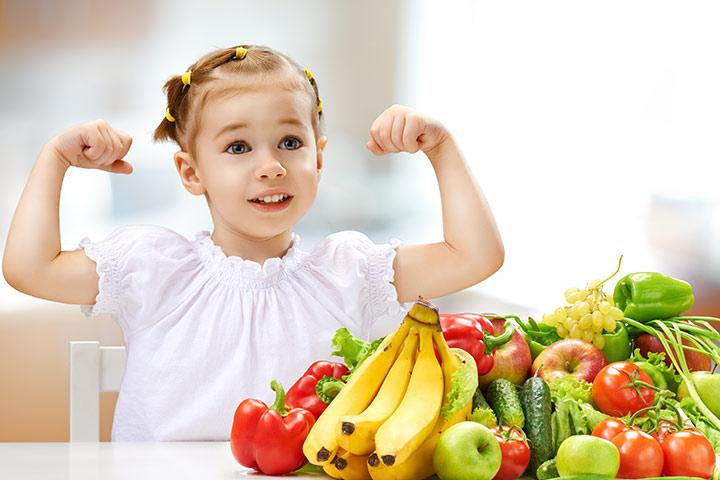 alimentacion saludable en los chicos