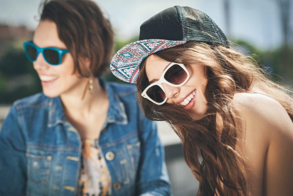 anteojos de moda jovenes