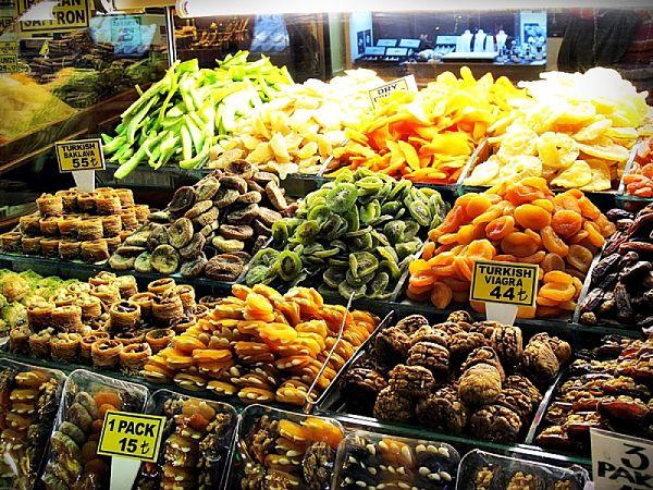frutos secos en estambul