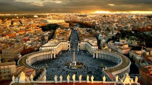 recorrer el vaticano