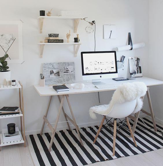 escritorio nórdico