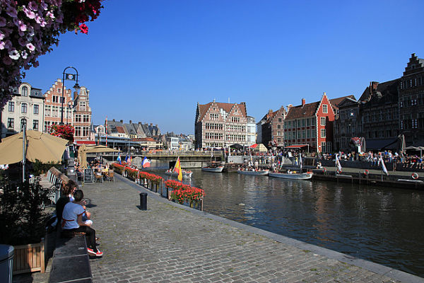 canales de Gante