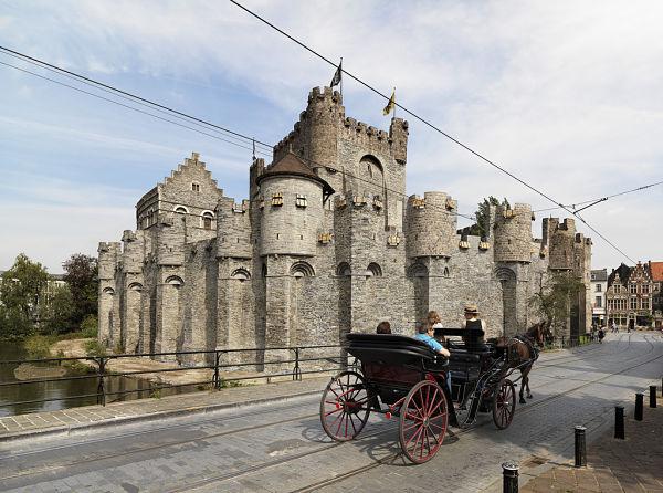 castillo en Gante