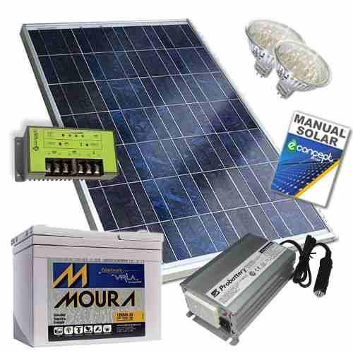 kit para panel solar