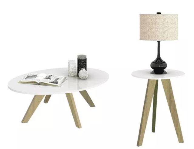 mesas estilo nórdico