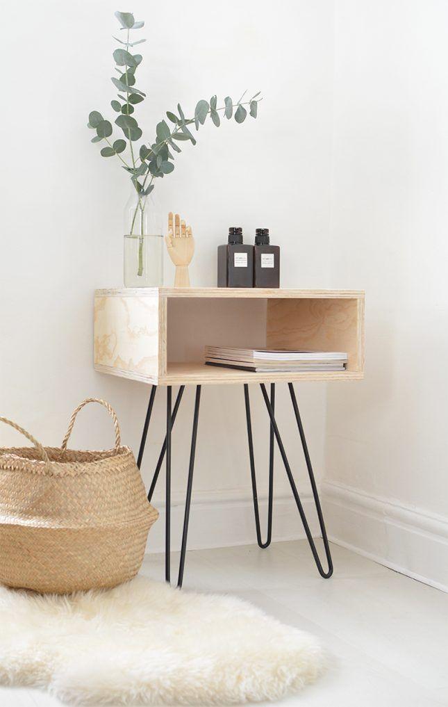 muebles estilo escandinavo