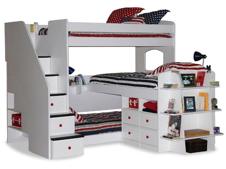cama cucheta para niños